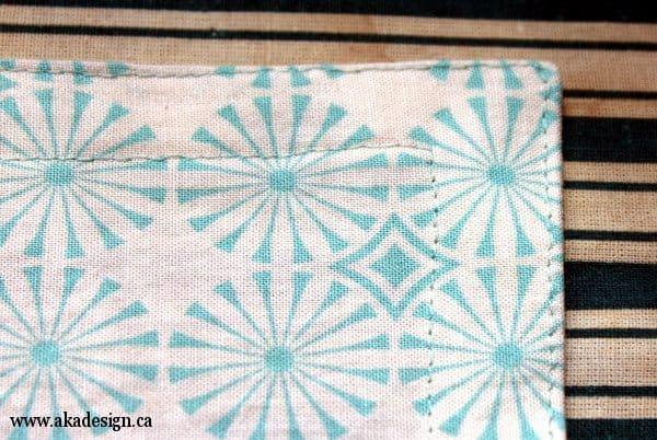 corner sewn