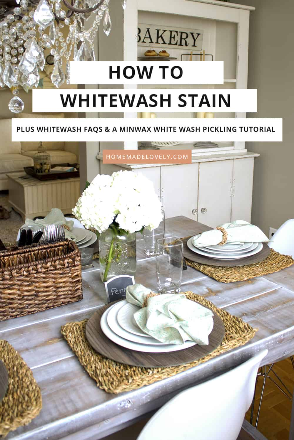 how to whitewash stain