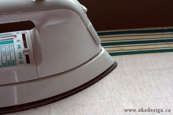 ironing back side