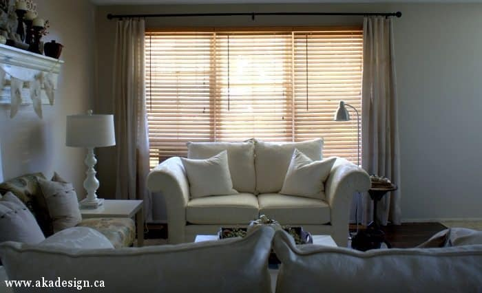 curtains for a small living room drop cloth curtains for the living room small update 24271