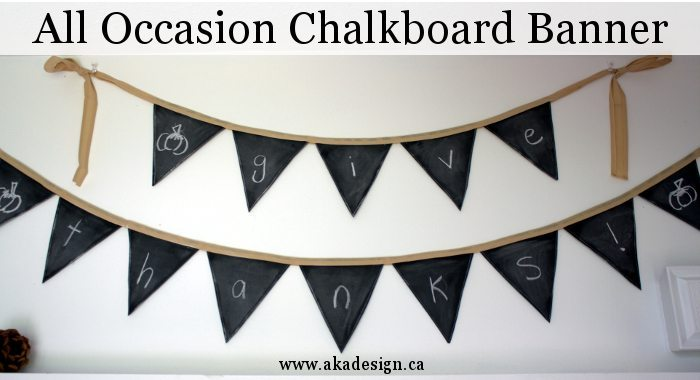 all occasion chalkboard banner title