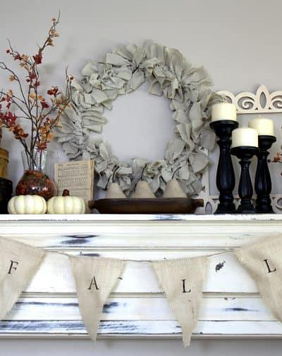 Fall Mantel | Seasons of Home Autumn Edition