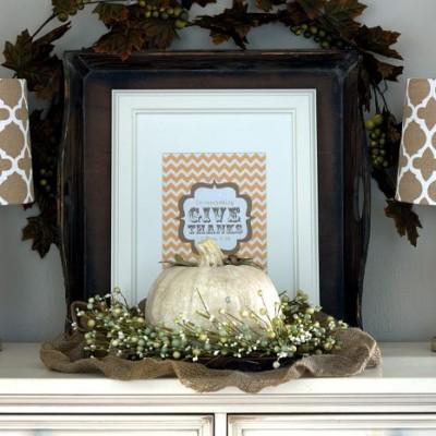 Give Thanks | Fall Printable Art