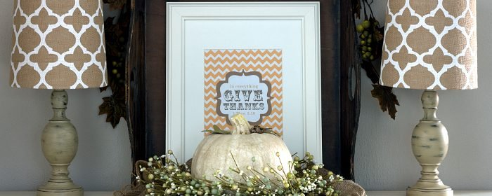 Give Thanks | Fall Printable Art