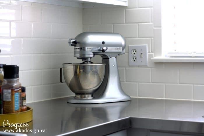 kitchen progress kitchenaid mixer