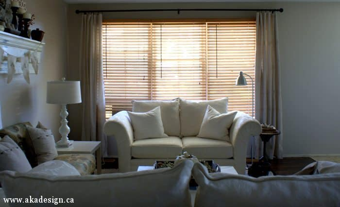 living room drop cloth curtains