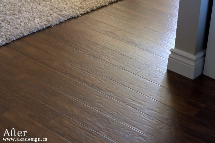 New Laminate Floors Reveal