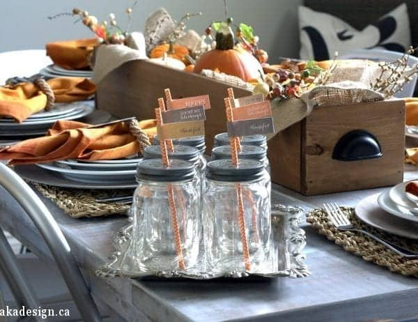Thanksgiving Fall Table | Decorating
