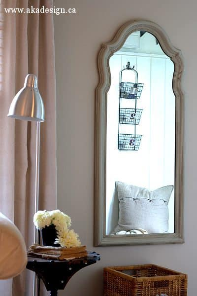 french finish mirror