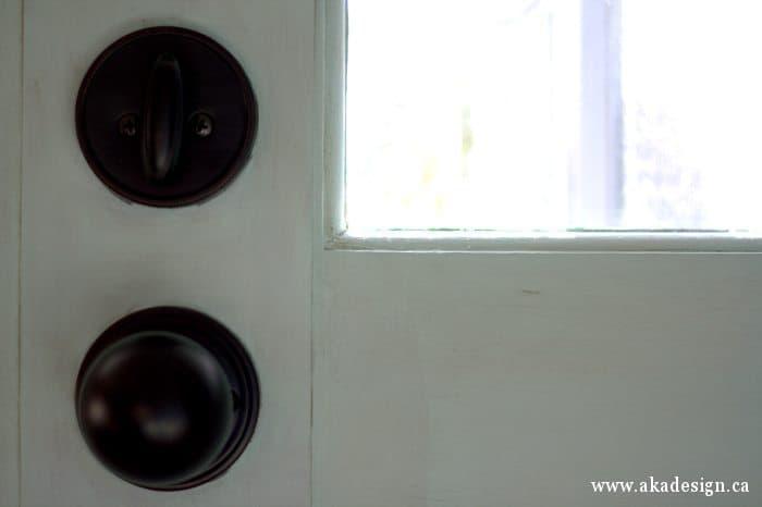 front door knob inside
