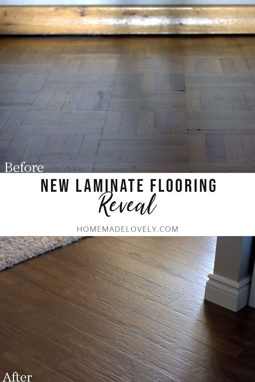 New Laminate Floors REVEAL