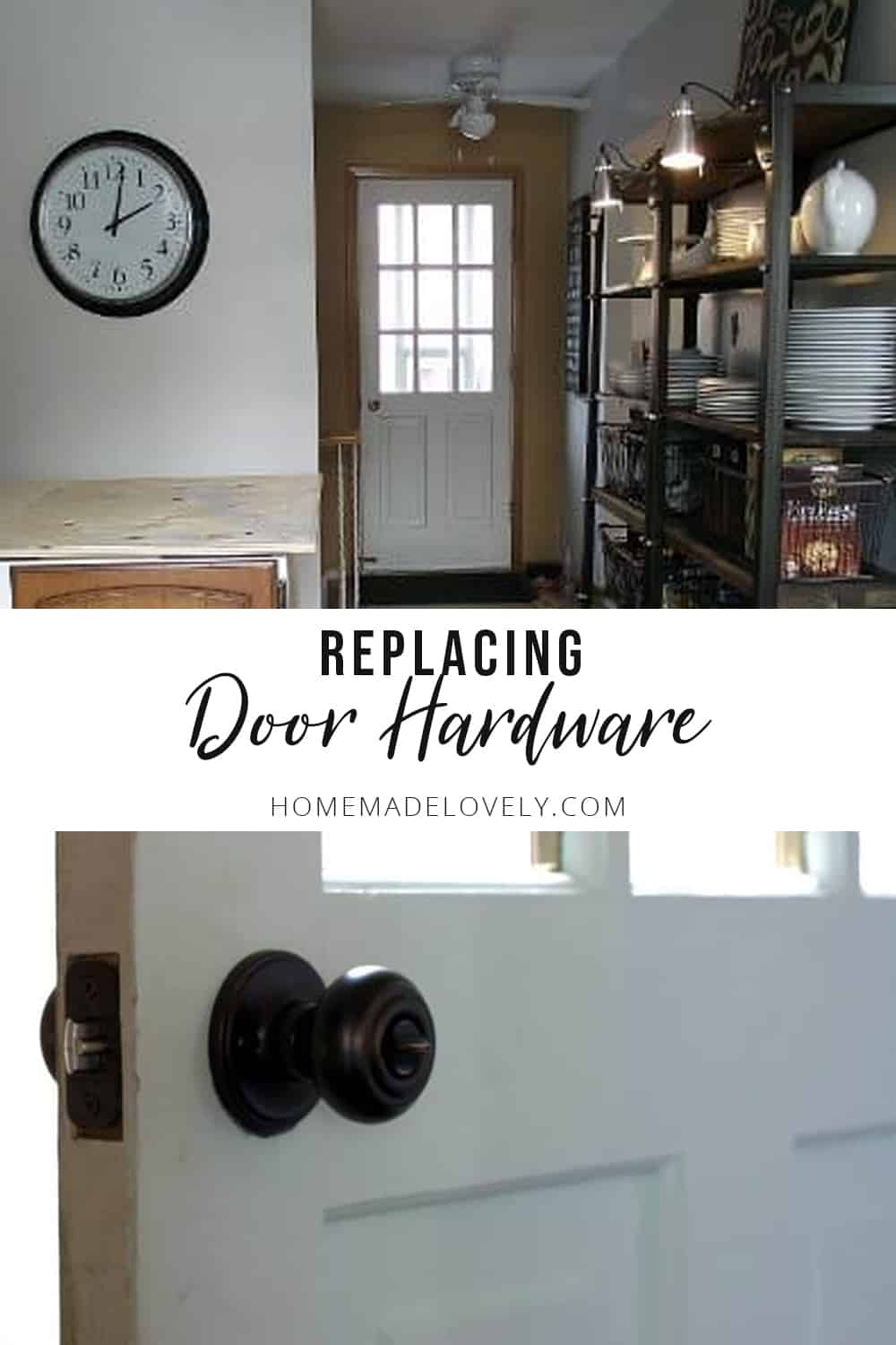New Door Hardware | Our House