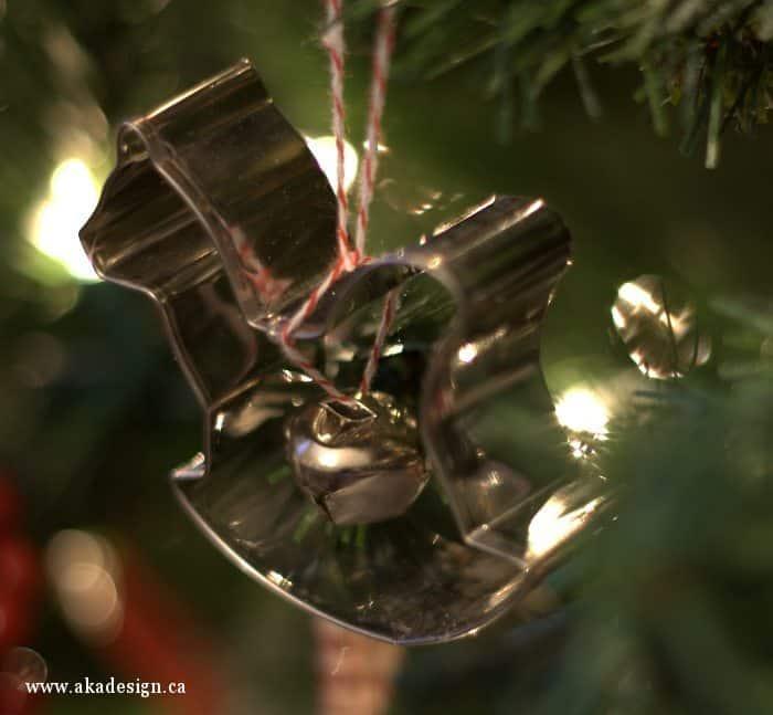 rocking horse cookie cutter ornament