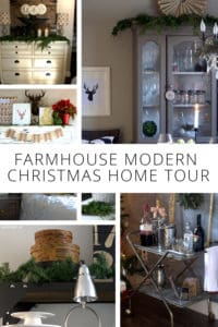 Farmhouse Modern Christmas Home Tour