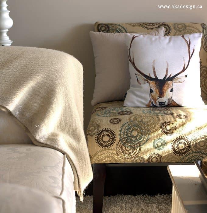 deer head pillows