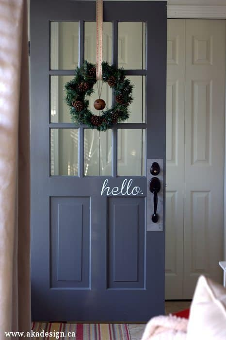front door hello