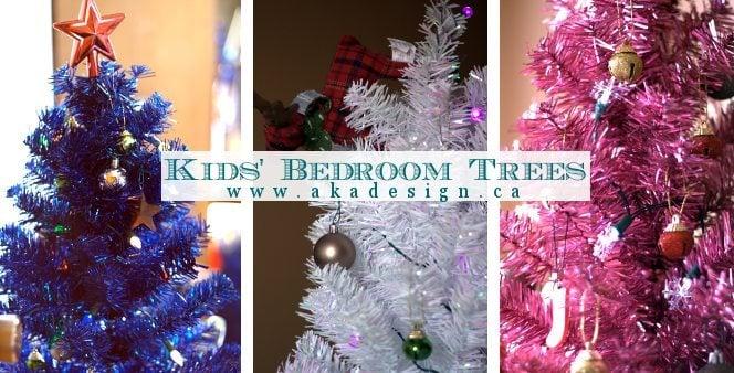 kids bedroom trees