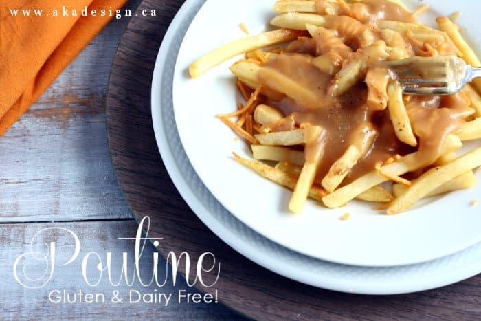 poutine gluten and dairy free