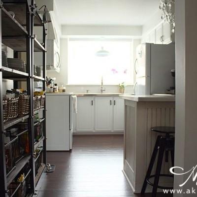 Our Imperfect White Kitchen