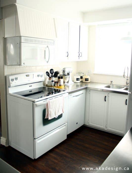 oven range dishwasher