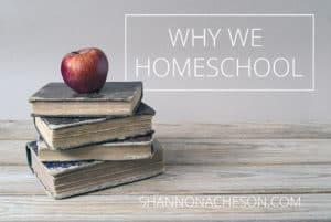 Why-we-homeschool