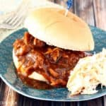 3 Ingredient Slow Cooker Pulled Chicken