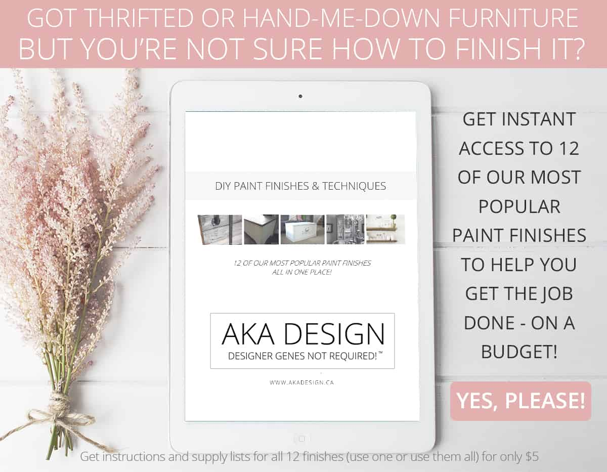 AKA Design Paint Finishes eBook ad