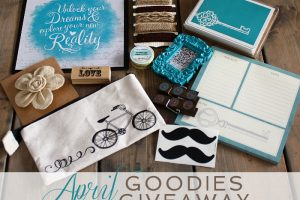 APRIL GOODIES GIVEAWAY
