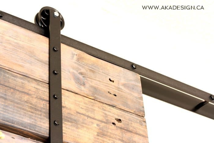 DIY Barn Door and DIY Barn Door Track That Won't Break the ...