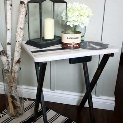 TV Table Makeover| Trash to Treasure