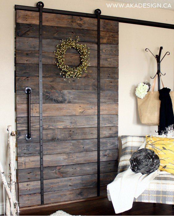 Diy Barn Door And Diy Barn Door Track That Wont Break The Bank