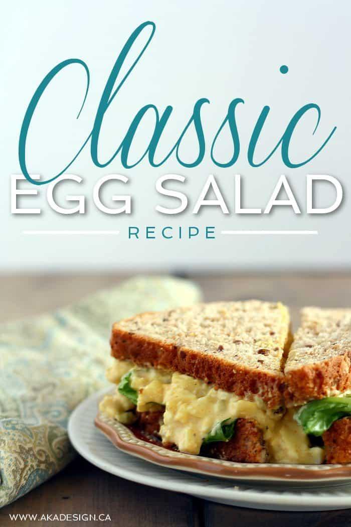 CLASSIC EGG SALAD RECIPE
