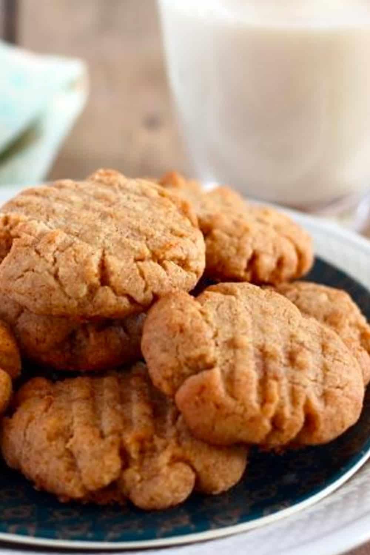 Peanut Butter Cookies Just Like Grandma Used to Make!