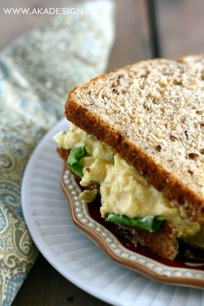egg salad | www.akadesign.ca