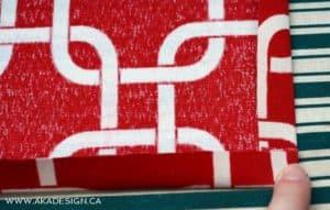 ironing hem | www.akadesign.ca