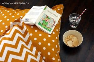 no sew floor pillows | www.akadesign.ca