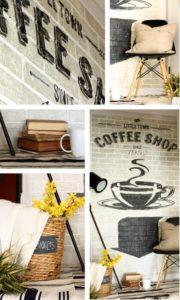 old brick wall advertising | www.akadesign.ca