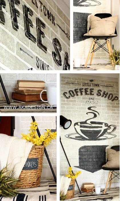 old brick wall advertising   www.akadesign.ca