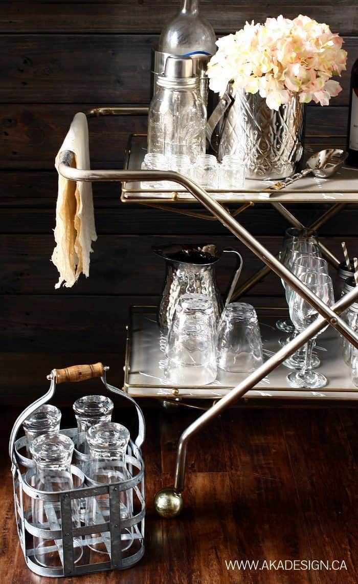 BAR CART DETAIL SIDE