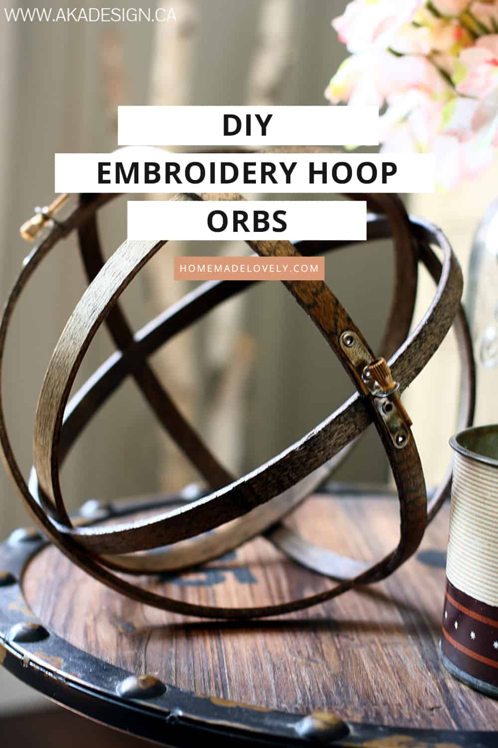 diy embroidery hoop orbs