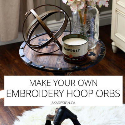 Embroidery Hoop Orbs – Easily Make Your Own