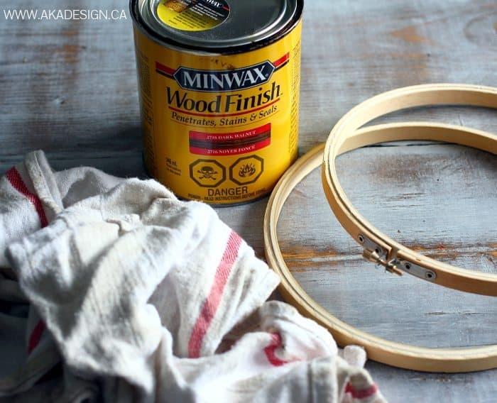 embroidery hoop sphere supplies