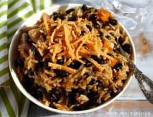 rice and beans   www.akadesign.ca