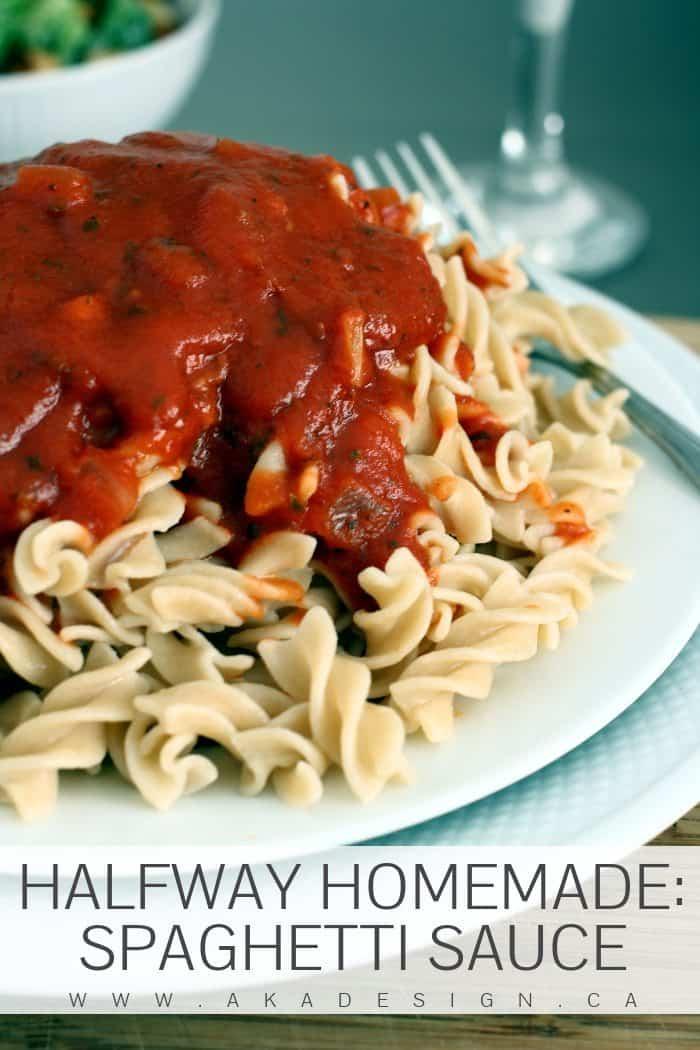 Homemade Spaghetti Sauce