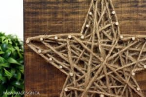 STRING ART STAR DETAIL