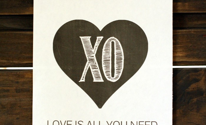 Love is All You Need 8″x10″ Art Print