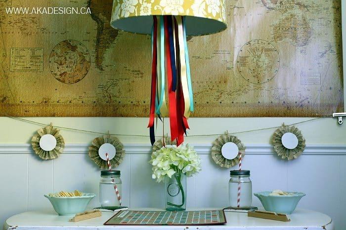 ribbon chandelier aka design