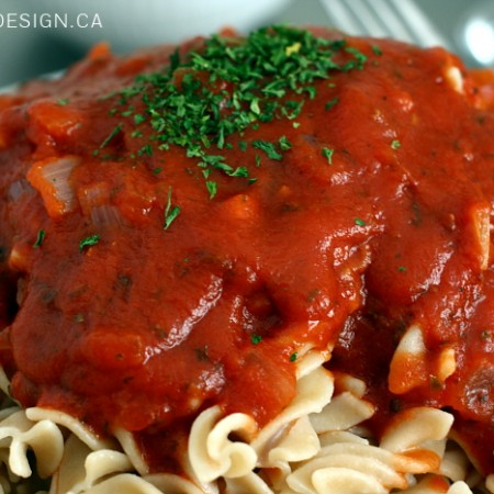 quick spaghetti sauce | www.akadesign.ca