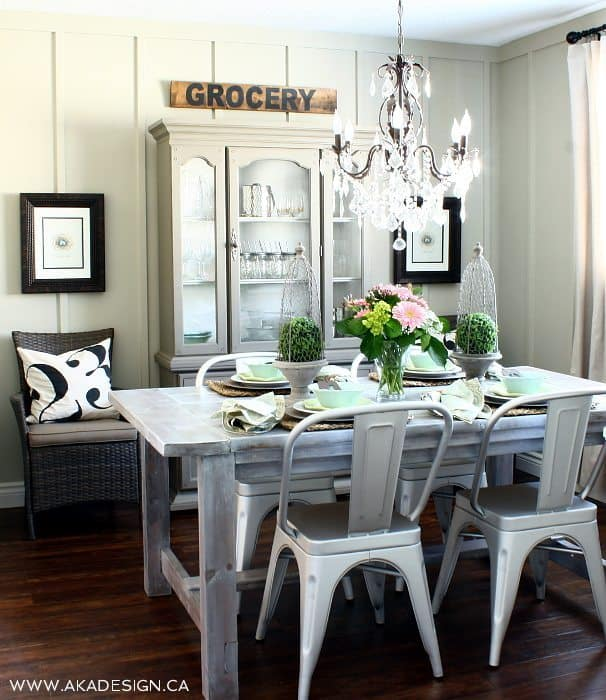 Farmhouse Dining Room Ideas: Canadian Bloggers Home Tour And Our House Tour