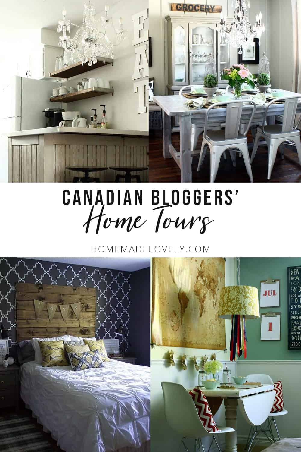 Canadian Bloggers Home Tour and Our House Tour